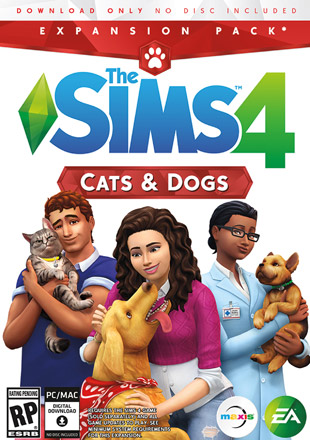 The Sims 4 Cats and Dogs with all DLCs