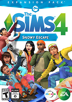 The Sims 4 Snowy Escape With All DLCS